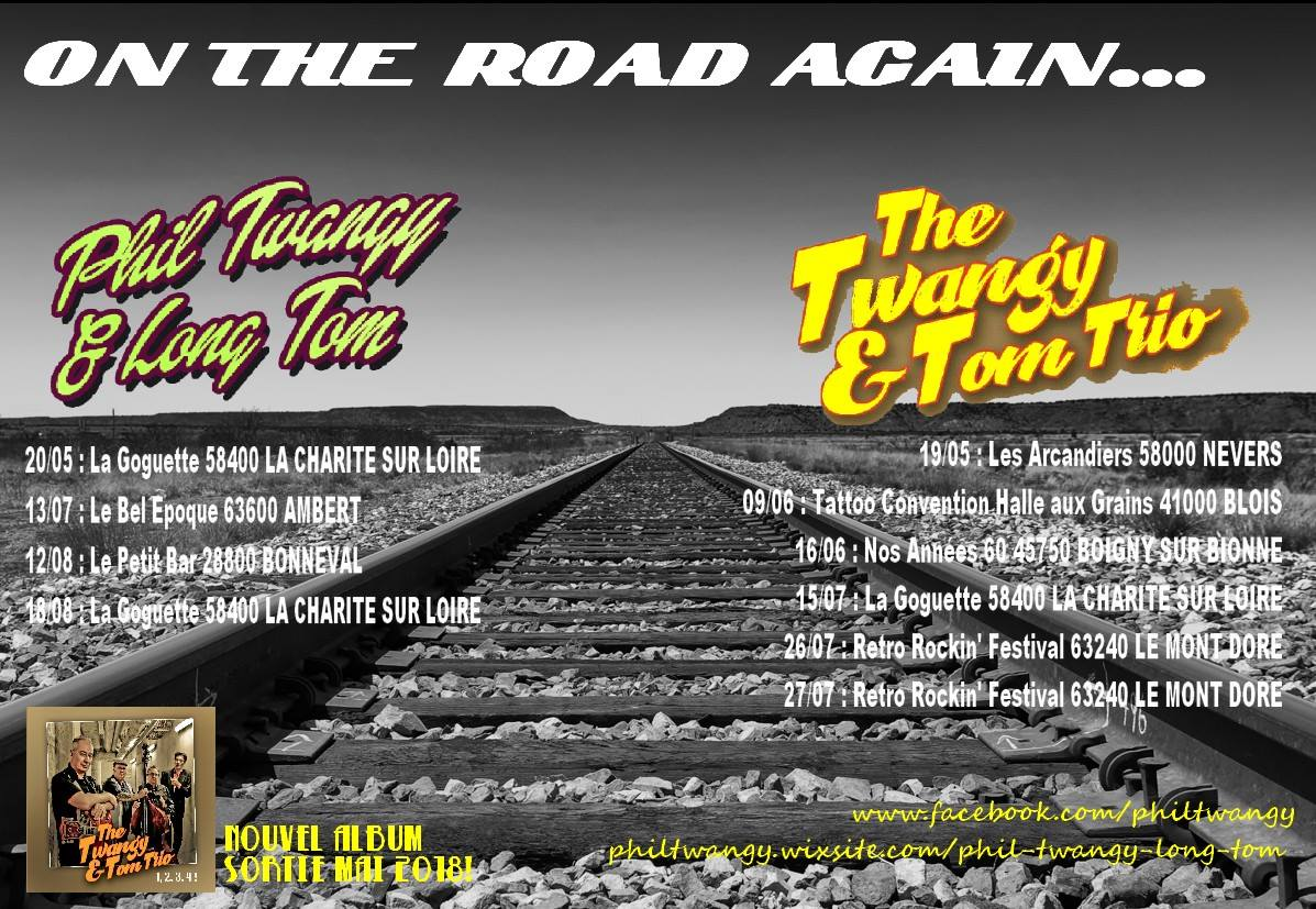 Phil Twangy & Long Tom On The Road Again.....