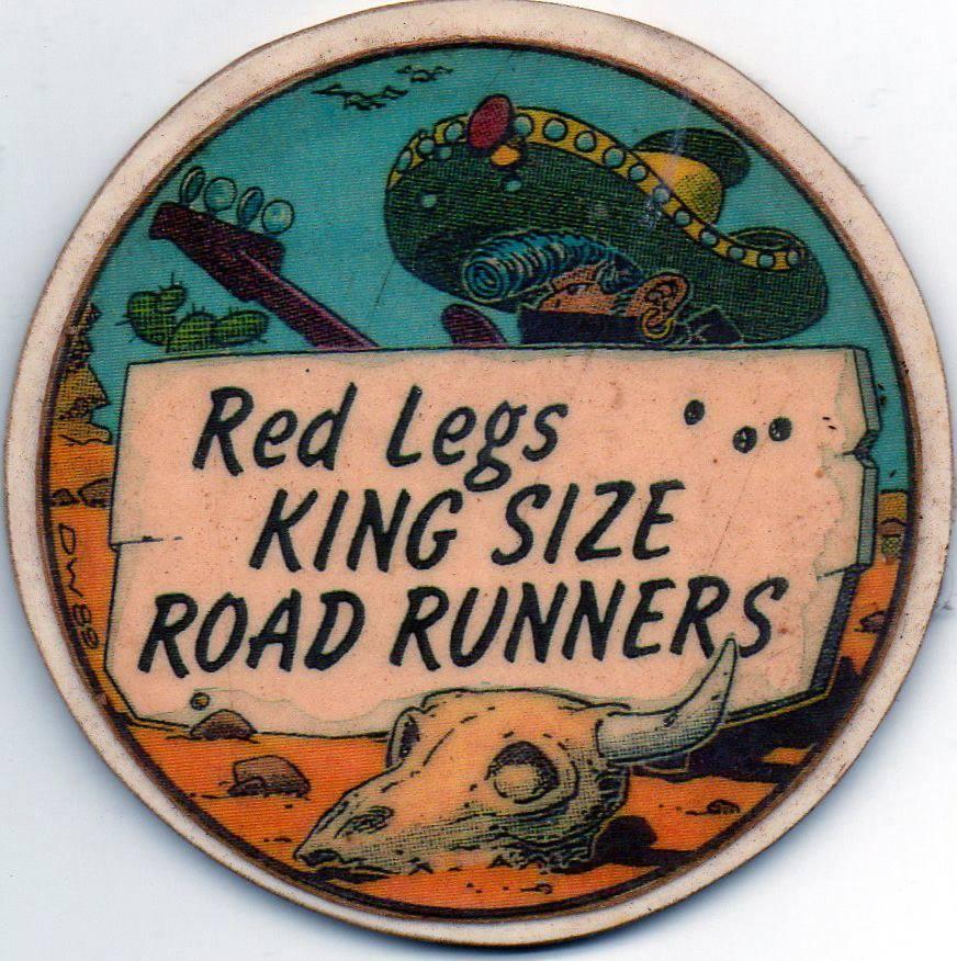 """10 février 1990 Red Legs, King Size, Roadrunners à Saint Sebastien Sur Loire """"l'Escall"""""""