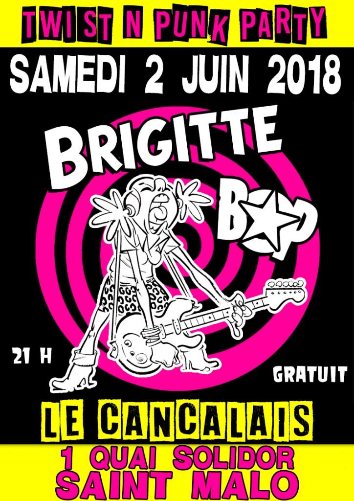 """2 juin 2018 Brigitte Bop à Saint Malo """"le Cancalais"""""""