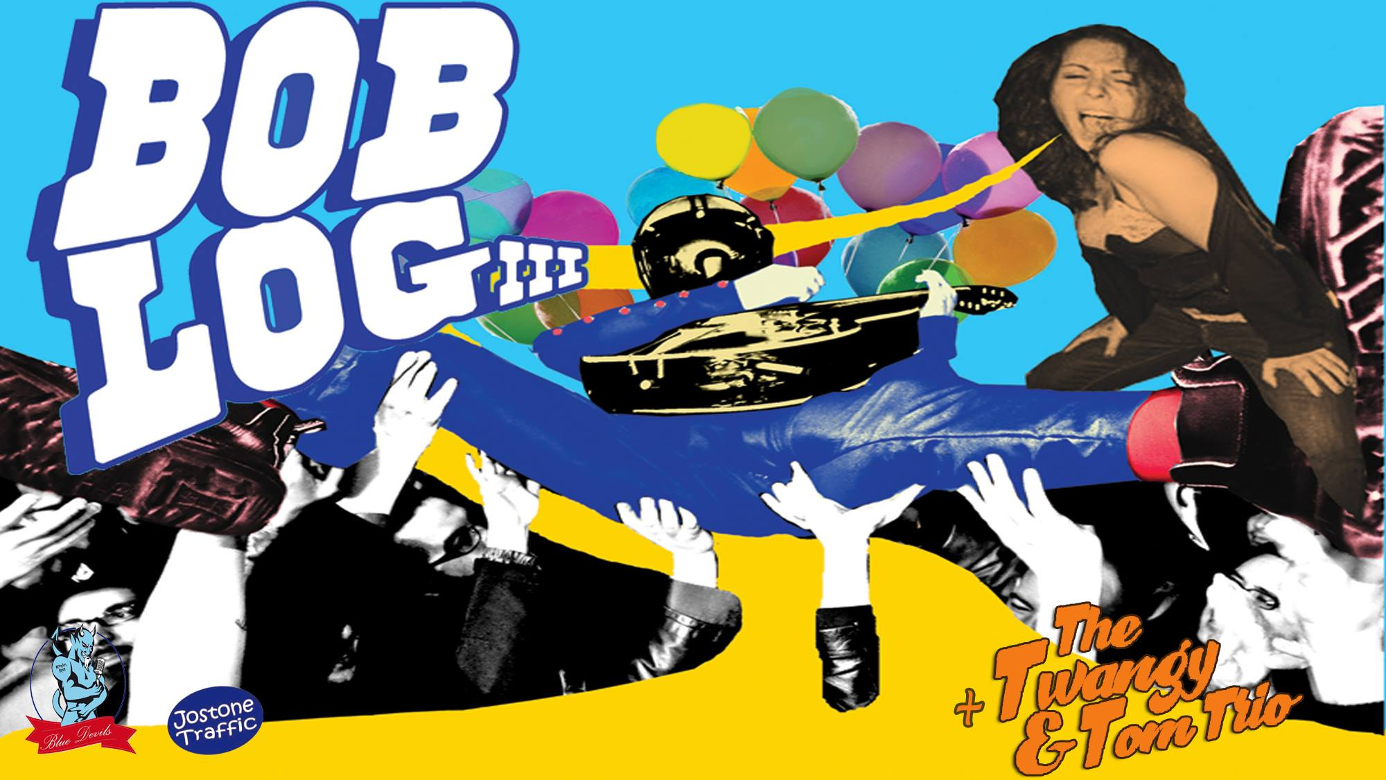 "2 septembre 2018 Bob Log III , Phil Twanguy & Tom Trio à Orléans ""Blue Devil"""
