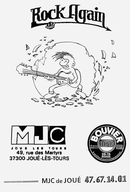 Programmation Rock Again - MJC Joué les Tours