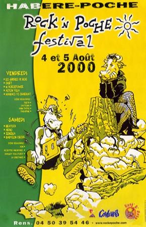 4 aout 2000 Les Gueules de Bois, Skirt, Aston Villa, Maniac vs Sharkiat à Habere Poche