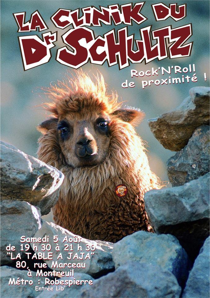 """5 aout 2007 La Clinik du Dr Schultz à Montreuil """"la Table à Jaja"""""""