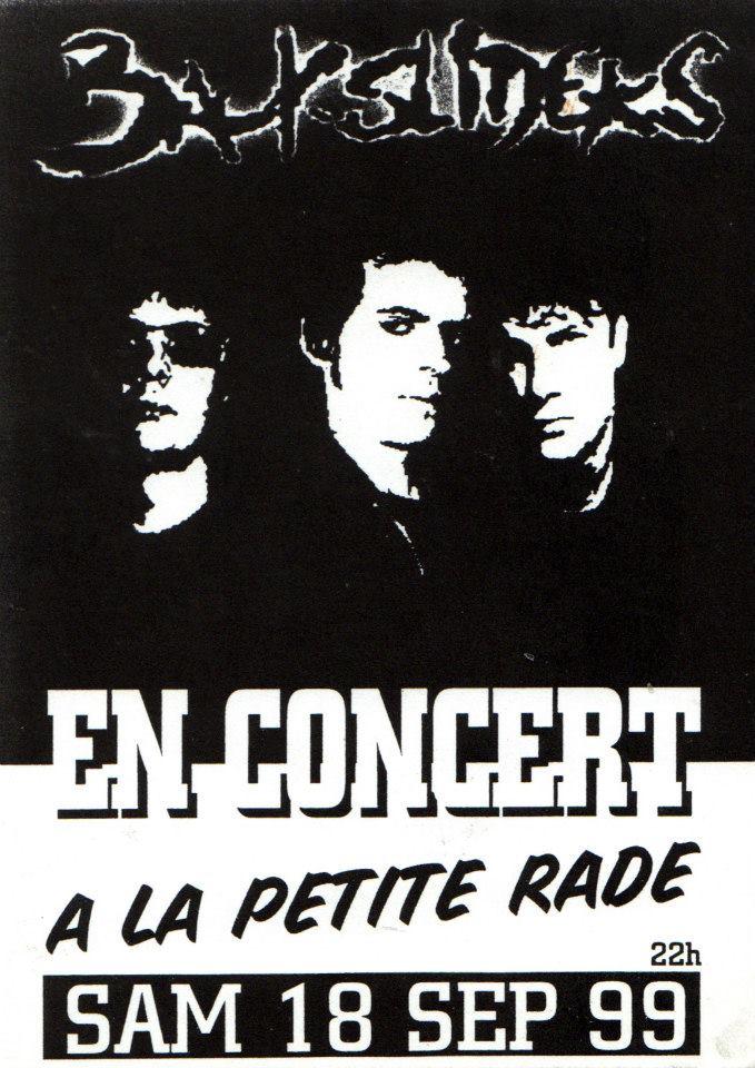 """18 septembre 1999 Backsliders à Sainte Adresse """"le Petit Rade"""""""