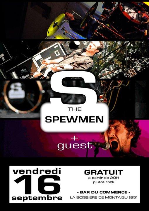 """16 septembre 2011 Spewmen à La Boissiere de Montaigu """"Bar Du Commerce"""""""