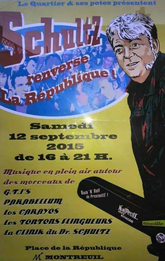 """12 septembre 2015 Schulz à Montreuil """"Place de la République"""""""