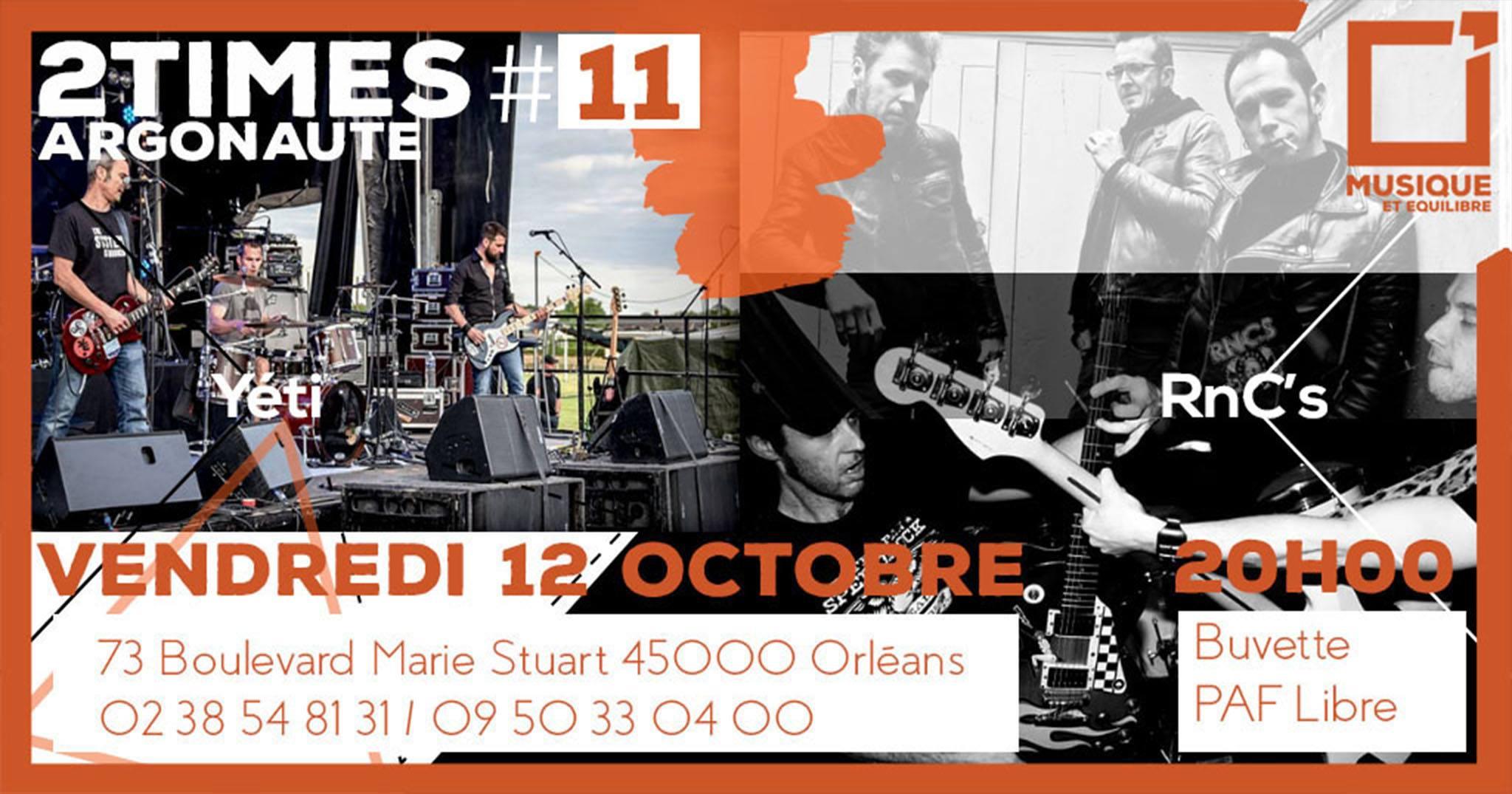 """12 octobre 2018 Yeti, RNC's à Orléans """"Argonaute"""""""