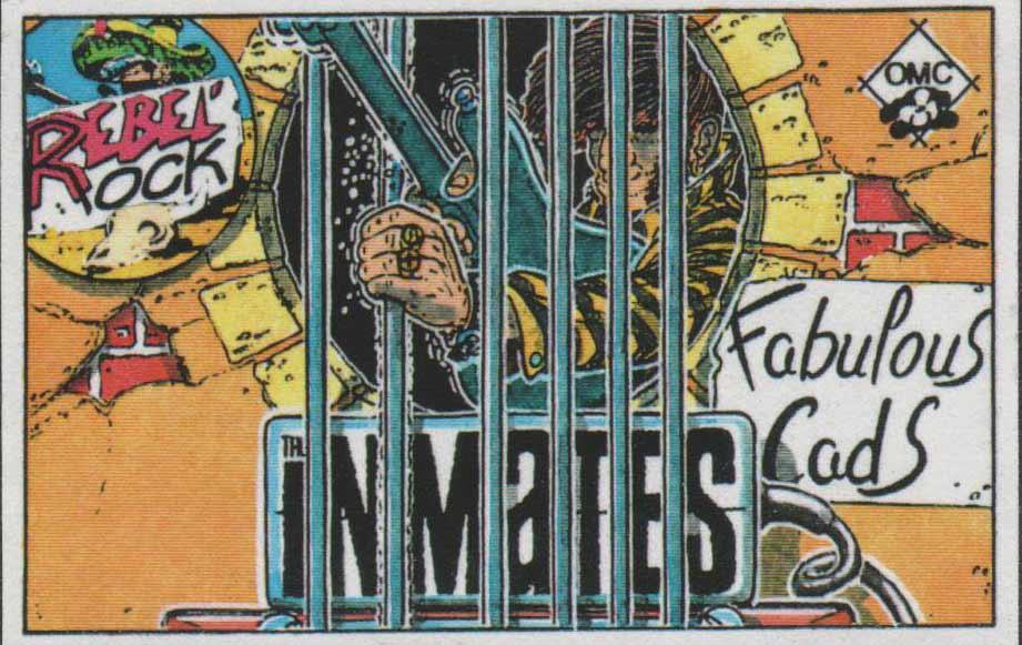"""14 novembre 1991 Inmates, Fabulous Cads à Saint Sebastien sur Loire """"l'Escall"""""""