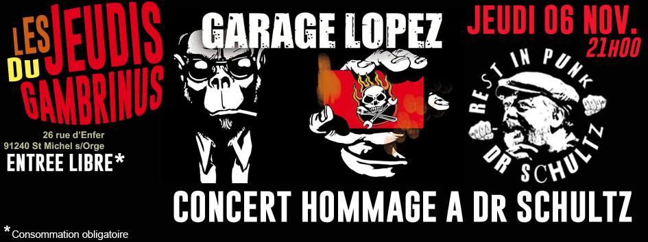 """6 novembre 2014 Garage Lopez à Saint Michel Sur Orge """"Taverne Gambrinus"""""""