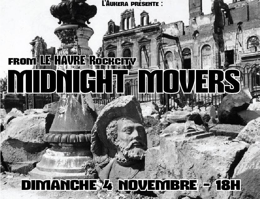 "4 novembre 2018 Midnight movers à Blois ""l'Aukera"""