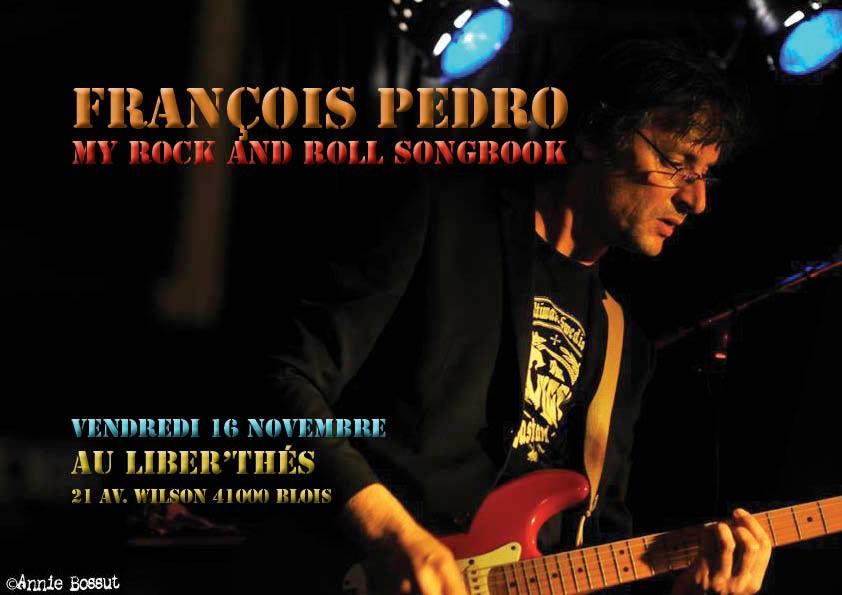 "16 novembre 2018 Francois Pedro à Blois ""Liber Thes"""