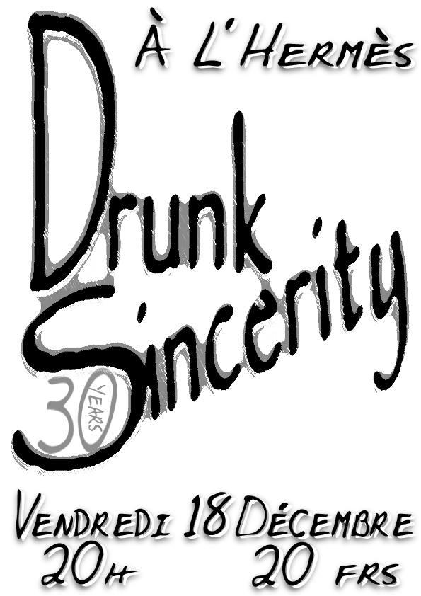 """18 decembre 1998 Drunk Sincerity au Havre """"l'Hermes"""""""