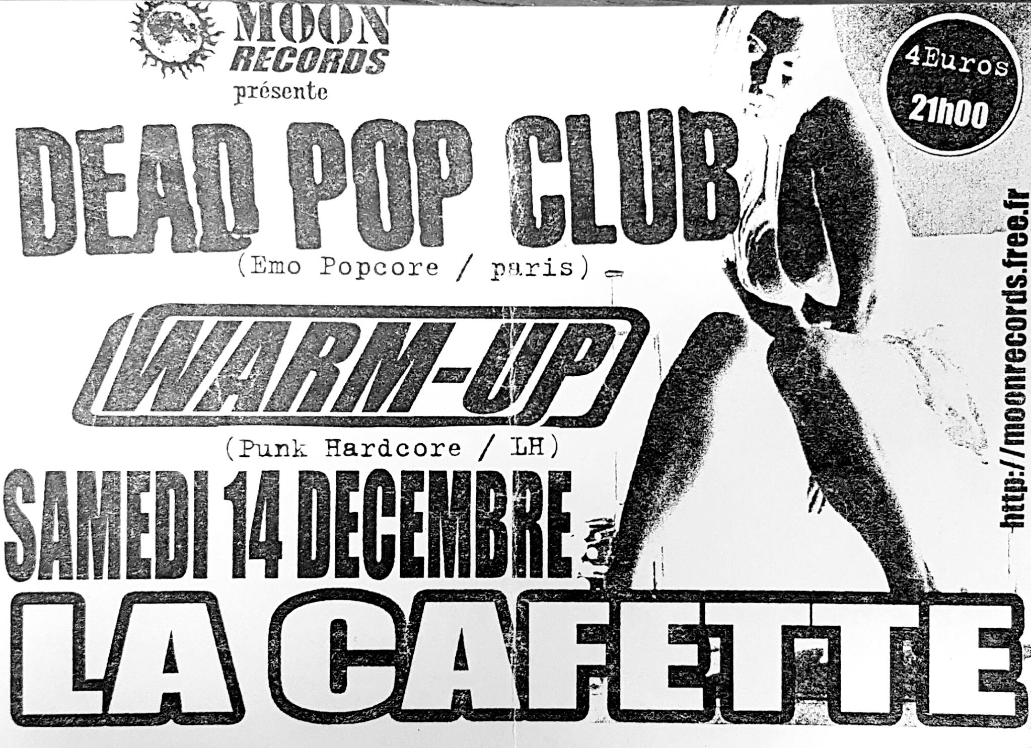 "14 decembre 2002 Dead Pop Club, Warm Up au Havre ""Cafette"""