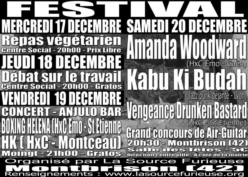 """19 decembre 2003 Boxing Helena, HK à Montbrison """"Salle Moingt"""""""