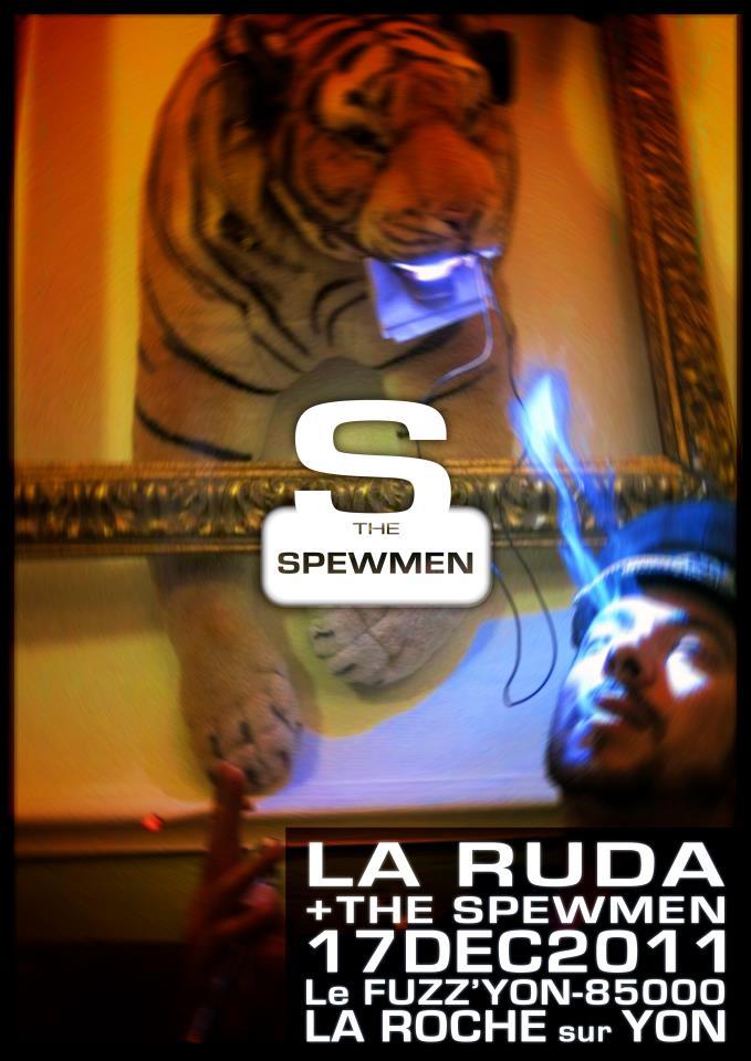 """17 decembre 2011 La Ruda, Spewmen à la Roche Sur Yon """"Fuzz Yon"""""""