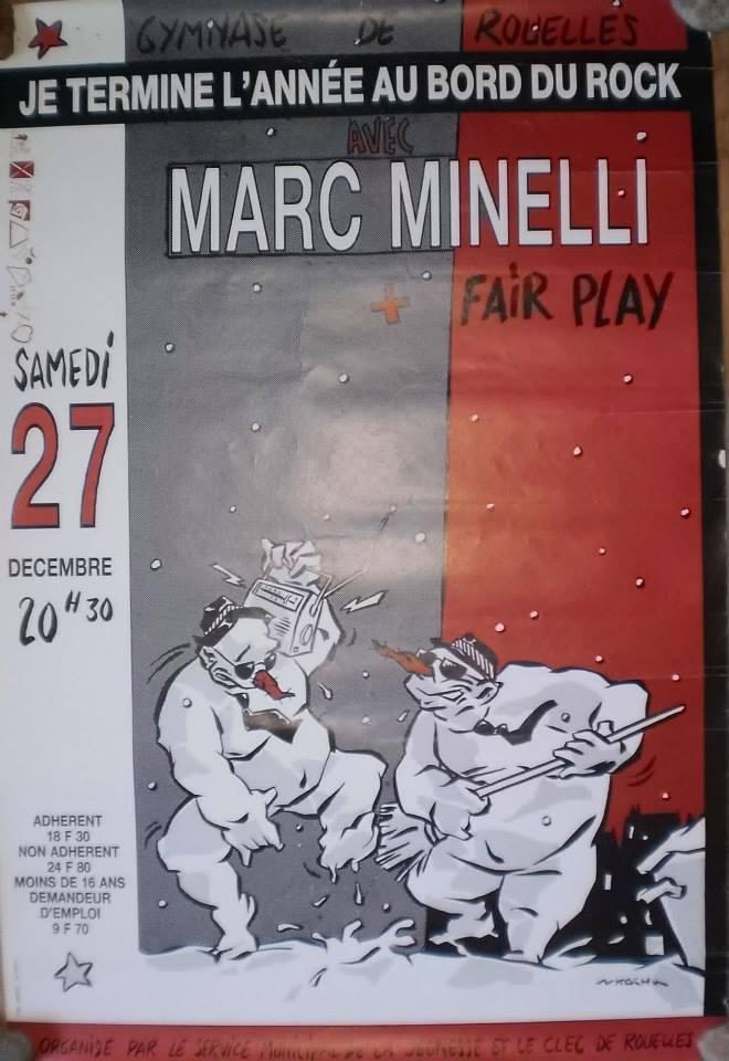 """27 decembre ???? Marc Minelli, Fair Play au Havre """"Gymnase de Rouelles"""""""
