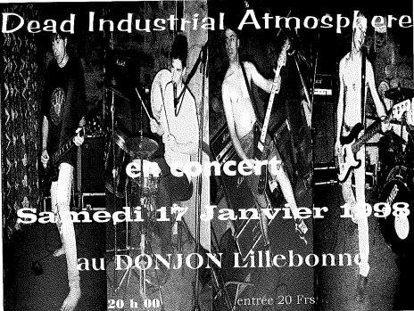 "17 janvier 1998 Dead Industrial Atmosphere à Lillebonne ""Donjon"""