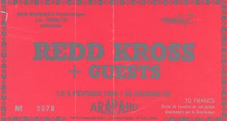 """5 février 1994 Redd Kross à Paris """"Arapaho"""""""