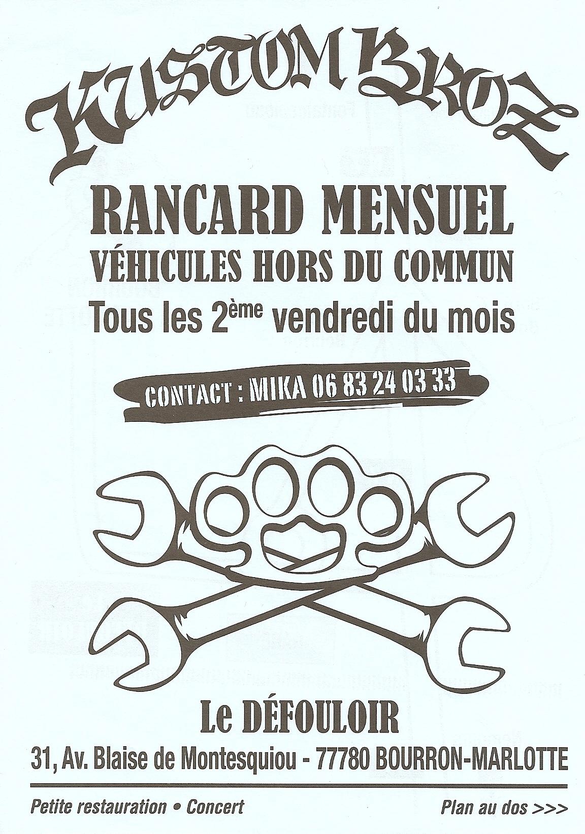 """11 fevrier 2011 Garage Lopez à Bourron Marlotte """"le Defouloir"""""""