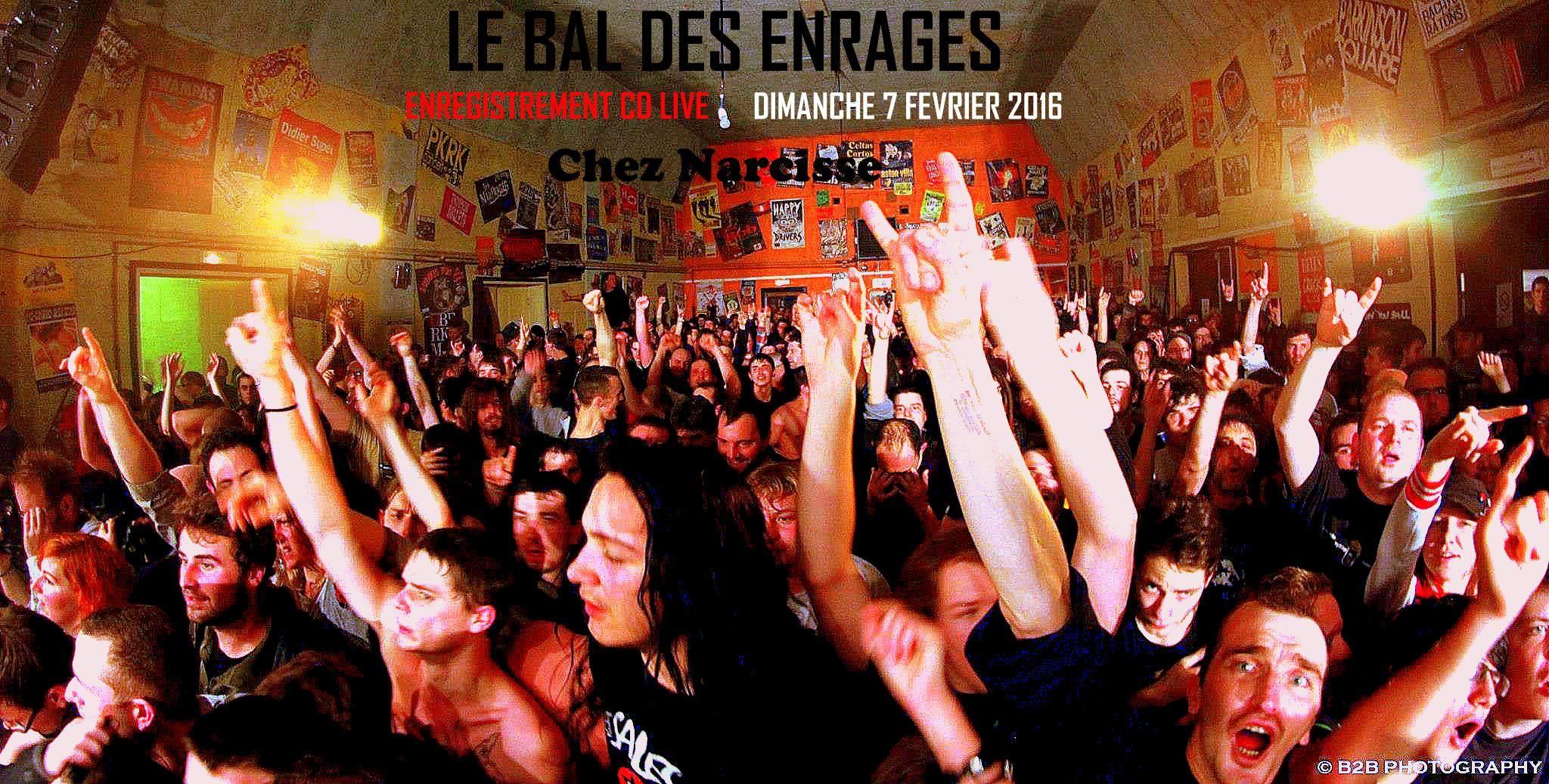 """7 février 2016 le Bal des Enragés au Val d'Ajol """"Chez Narcisse"""""""