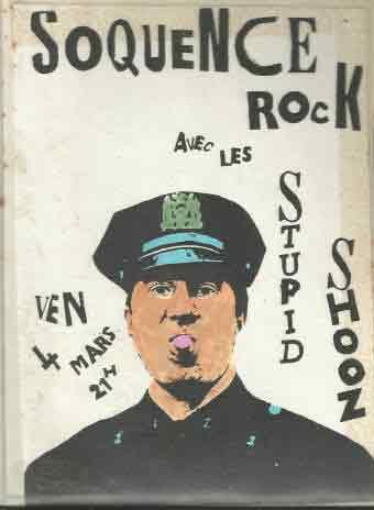 """4 mars 1988 Stupid Shooz au Havre """"Clec de l'Eure"""""""