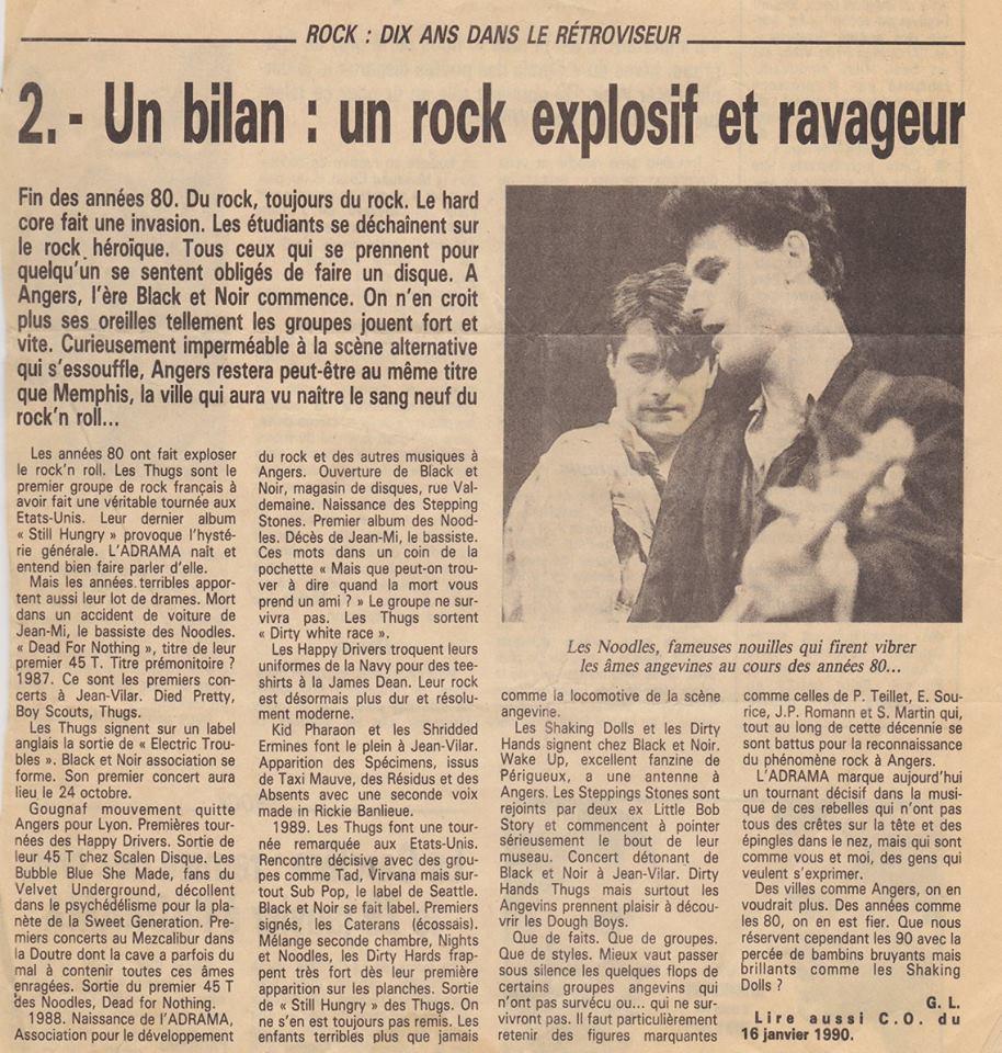 Rock Dix Ans dans le Retroviseur