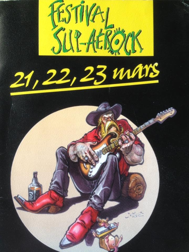 """21 mars 1996 Bubblies, Well Spotted, Drive Blind à Toulouse """"Complexe Scientifique de Rangueil"""""""