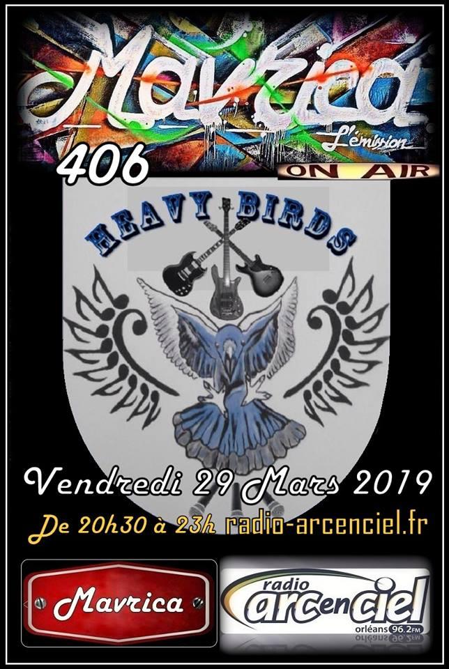 "29 mars 2019 Heavy Birds à Fleury les Aubrais ""Mavrica"""