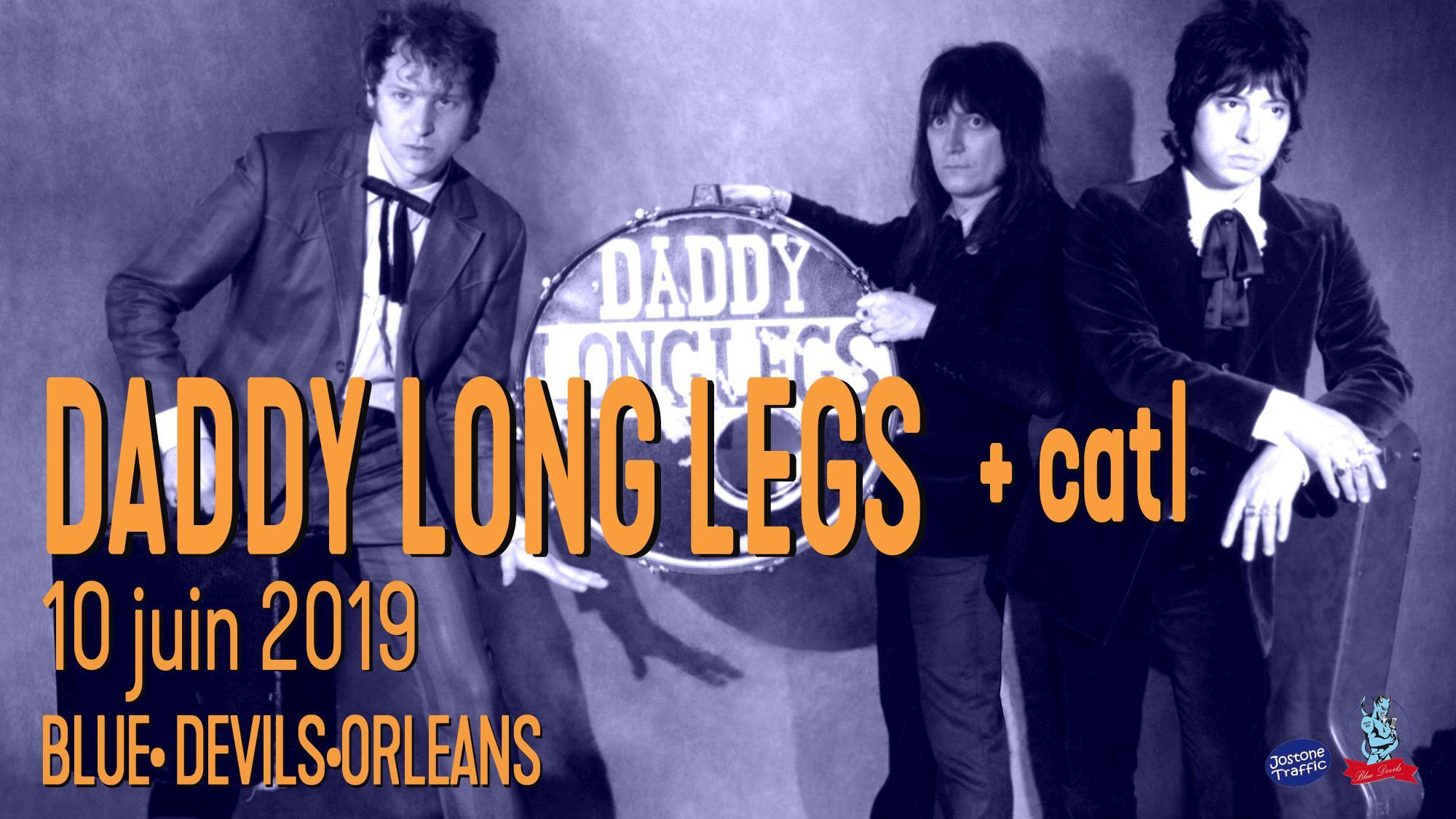 """6 juin 2019 Daddy Long Legs, Catl à Orléans """"Blue Devils"""""""