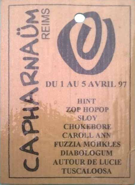 "1er Avril 1997 Hint à Reims ""Pop Art Café"""