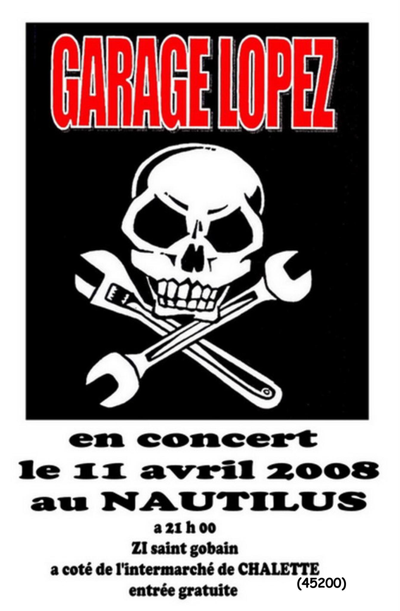 """11 avril 2008 Garage Lopez à Chalette Sur Loing """"Nautilus"""""""