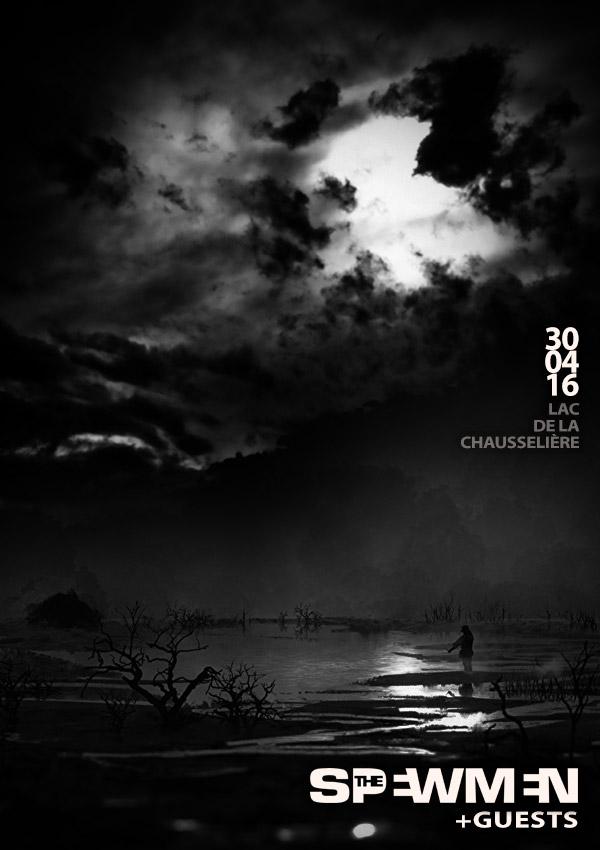 """30 Avril 2016 The Spewmen à La Guyonnière """"Lac de la Chausselière"""""""