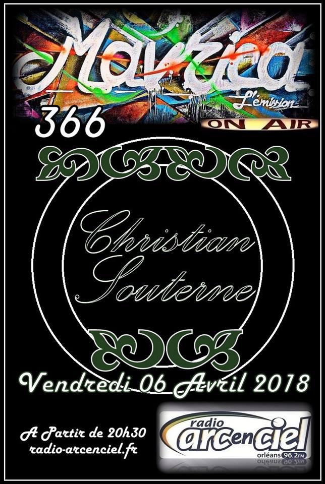 """6 avril 2018 Christian Souterne à Fleury les Aubrais """"Mavrica"""""""