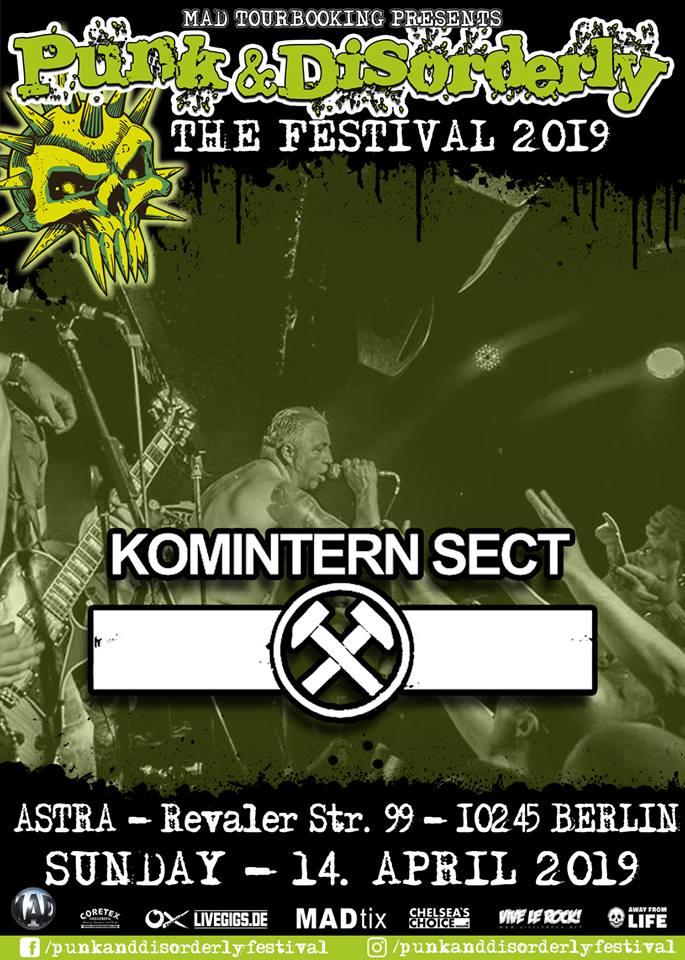 "14 avril 2019 Komintern Sect à Berlin ""Astra"""