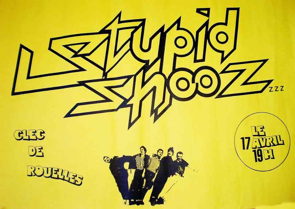 """17 avril ? Stupid Shooz au Havre """"Clec de Rouelles"""""""