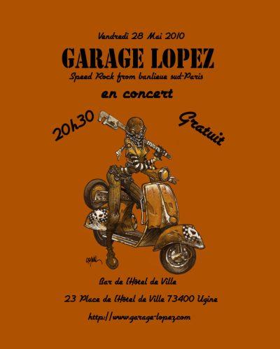 "28 mai 2010 Garage Lopez à Ugine ""Bar de l""Hotel de Ville"""