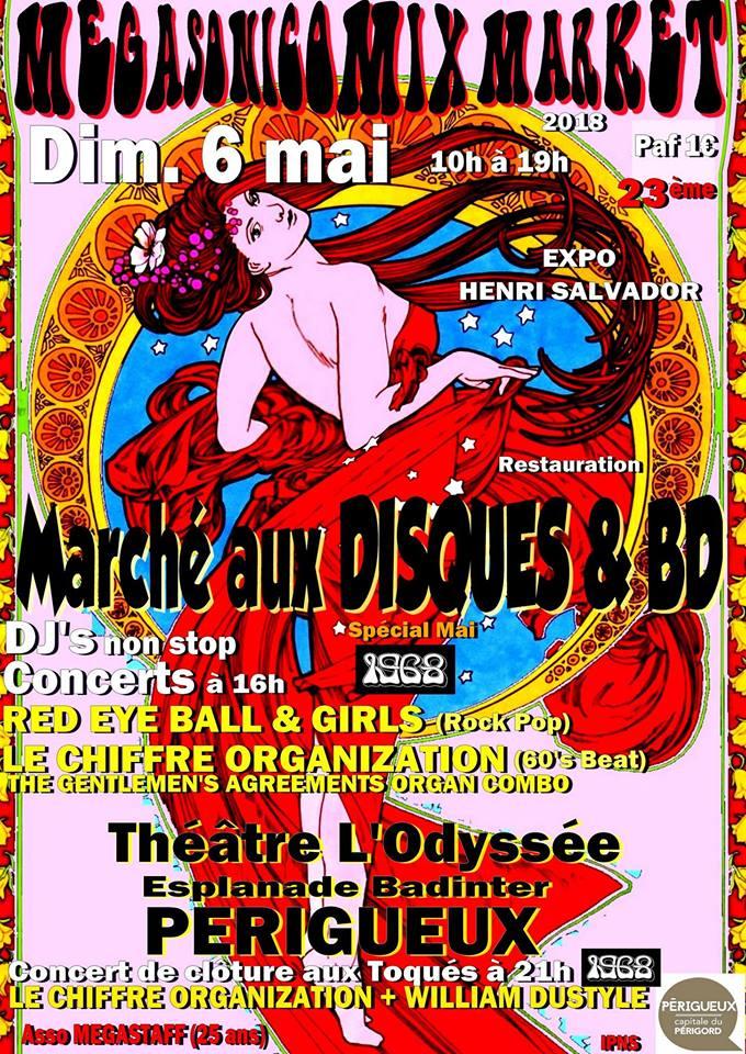 "6 mai 2018 Red Eye Ball & Girls, le Chiffre Organization à Perigueux ""Theatre de l'Odysée"""