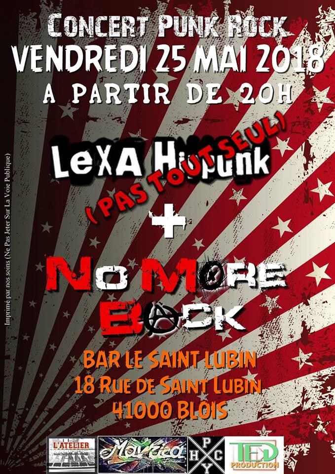 """25 mai 2018 No More Back à Blois """"le Saint Lubin"""""""