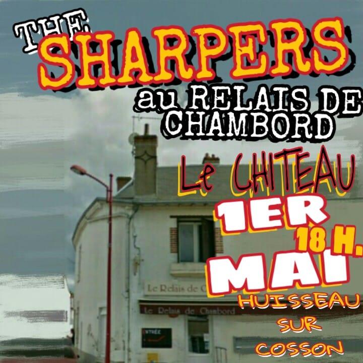"""1er mai 2019 The Sharpers à Huisseau sur Cosson """"Relais de Chambord"""""""