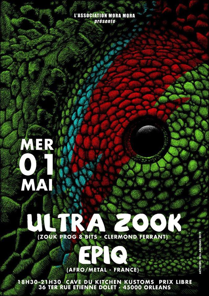 "1er mai 2019 Ultra Zook, Epiq à Orléans ""Kitchen Kustoms"""