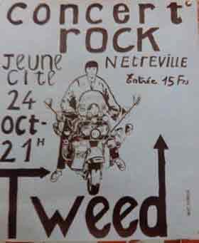 24 octobre 1981 Tweed à Evreux