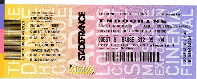 """26 juin 2010 Les Wampas, Indochine à Saint Denis """"Stade de France"""""""
