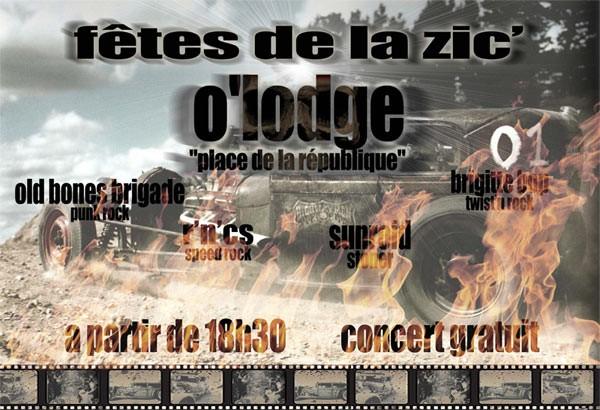 """21 juin 2011 Brigitte Bop, RNC's, Old Bones Brigade, Strong Come Ons à Orléans """"O'Lodge"""""""
