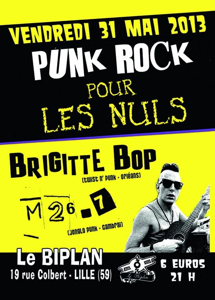 """31 mai 2013 M 26-7, Brigitte Bop à Lille """"Biplan"""""""