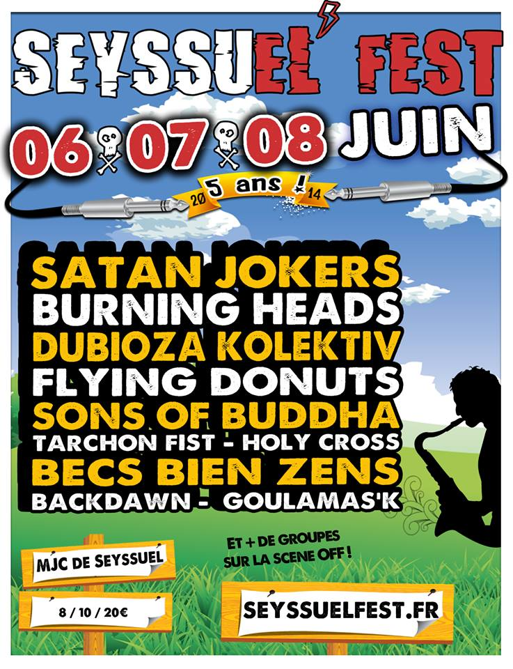 8 juin 2014 Holy Cross, Satan Jokers à Seyssuel