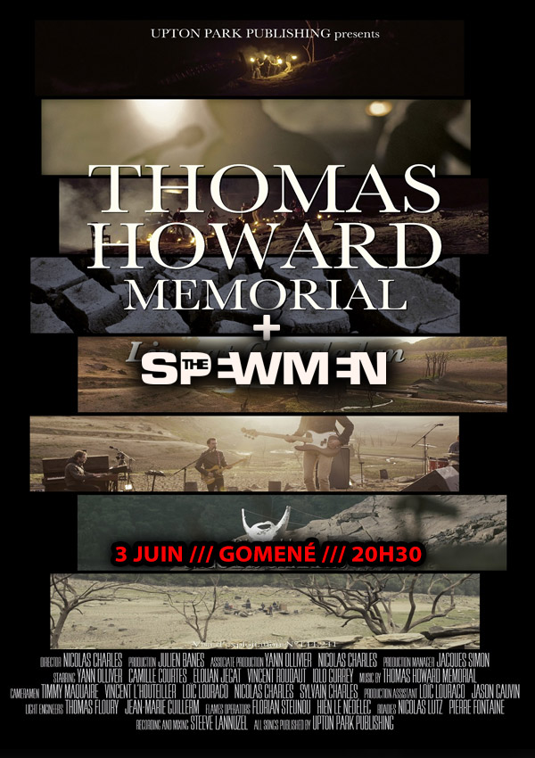 "3 juin 2016 Thomas Howard Memorial, The Spewmen à Gomené ""Pub Follette"""