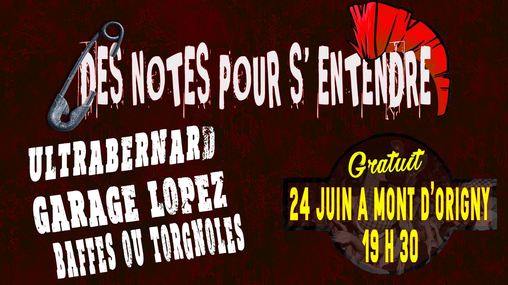 24 juin 2017 Ultrabernard, Garage Lopez, Baffes ou Torgnoles à Mont d'Origny