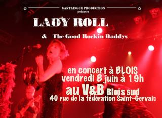 "8 juin 2018 Lady Roll & The Good Rockin Daddys à Saint Gervais ""V&B"""