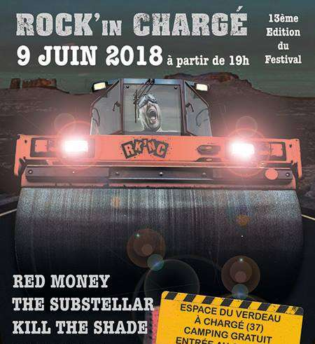 "9 juin 2018 Red Money, The Substellar, Kill The Shade à Chargé ""Espace du Verdeau"""