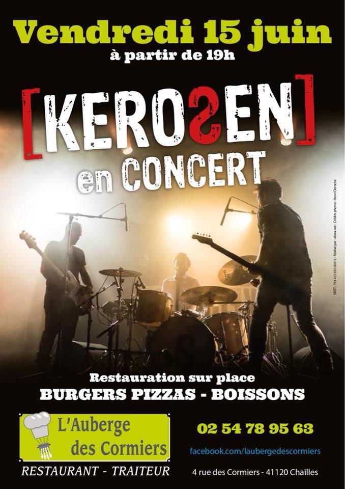"""15 juin 2018 Kerosen à Chailles """"Auberge des Cormiers"""""""